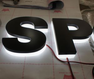 Fabricated Backlit Illuminated Acrylic Steel Halo LED Channel Letters pictures & photos