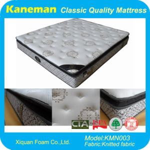 High Quality Euro Pillow Top Spring Mattress pictures & photos