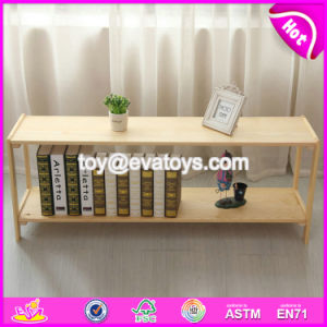 High Quality Household Wooden Small Shelf for Wholesale W08c232 pictures & photos