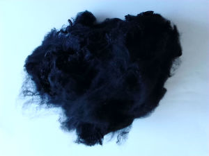 Hot Sale Solid Polyester Staple Fiber- Black pictures & photos