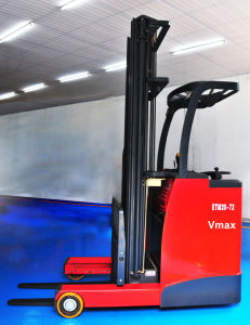 1.0 Ton -2.0 Ton Stond on Electric Reach Forklift Truck