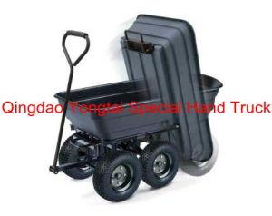 Black Poly Garden Dump Cart pictures & photos