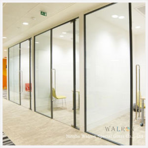 china 6mm tempered glass wall/partition glass door with ce