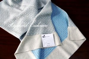 Cashmere Kniited Scarf with Jacquard Pattern pictures & photos