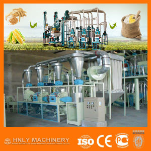 Steel Frame Structure 100tpd Wheat Flour Milling Machines with Price pictures & photos