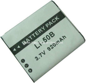 770mAh Rechargeable Li-ion Camera Battery for Olympus Li-50bh pictures & photos