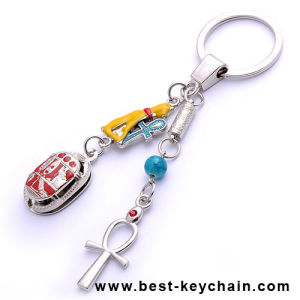 Custom Souvenir Gifts Egypt Kaiserin Metal Keyring (BK12010) pictures & photos
