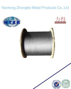 6*19+FC or 6*19+Iwrc Galvanized Steel Wire Cable Rope pictures & photos