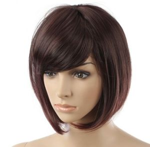 Short Human Hair Full Lace Wig (BWLW-410)