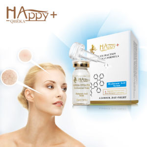 Deep Moisturizing Pure Natural Hyaluronic Acid Essence Happy+ Hyaluronic Acid Serum Moisturizing Serum pictures & photos