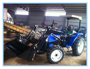 Farm Tractor Front End Loader, Dq404 with Tz04d Front End Loader and Backhoe for Tractor (LW-6/LW-7/LW-8/LW-9) pictures & photos