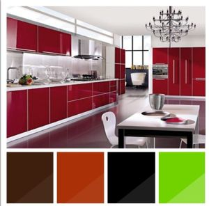 Acrylic Kitchen Cabinet pictures & photos