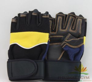 Fitness Gloves with Wrist Protector (PHH-990118) pictures & photos