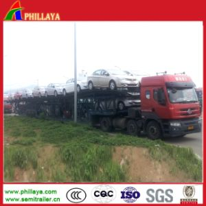 Hydraulic Lifting Car Semi Trailer From Trailer Manufacturer pictures & photos