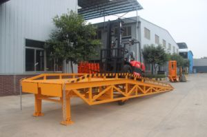 6 Ton Hydraulic Movable Container Load Ramp pictures & photos
