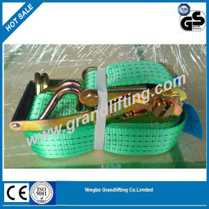 TUV Certified 2′′ 50mm EU European Standard Polyester Ratchet Tie Down pictures & photos
