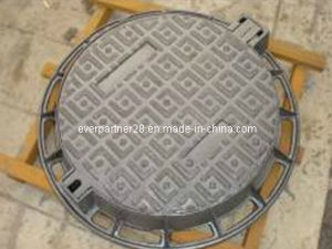 En 124 D400 Ductile Iron Manhole Cover with Round Frame pictures & photos