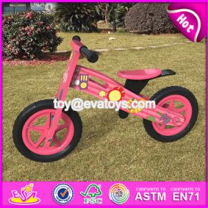 Best Design Original Work Pink Balance Wooden Kids Bikes for Sale W16c179 pictures & photos