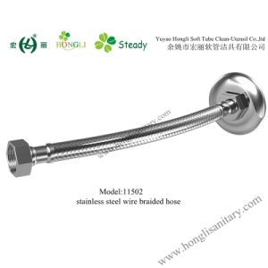 11502 Stainless Steel Wire Braided Flrxible Hose in Good Quality pictures & photos
