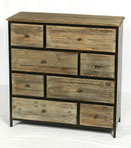 Antique Wall Wooden Cabinet for Living Room