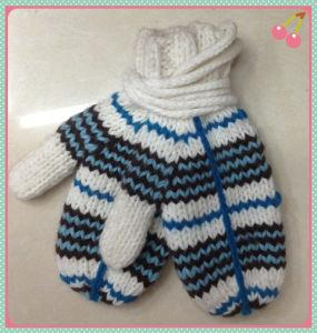 Warm Fashion Knitted Gloves - Wf049