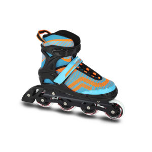 Semi Soft Adjustable Inline Skate (SS-84A-3) pictures & photos