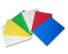 Colored PVC Sheet pictures & photos