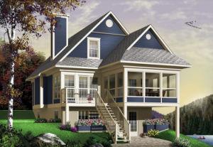 Prefab House (W4916A)