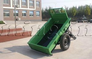 Tiller Trailer, Small Trailer for Walking Tractor pictures & photos