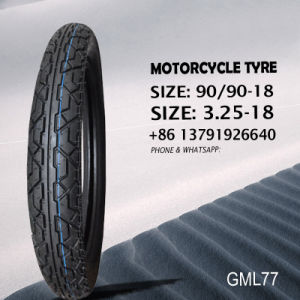 Motorcycle Tube and Tyre/ Tire Tubeless 3.25-18 90/90-18 pictures & photos