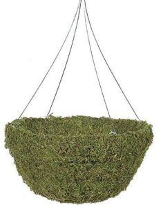 Moss Hanging Basket with 4-Leg Galvanized Wire Hanger pictures & photos