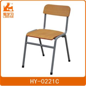 Single Studying Chair with Table of Wood Child Furniture pictures & photos