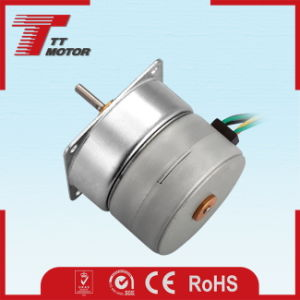 Micro stepper 12V geared DC motor for Flocking machine workbench pictures & photos
