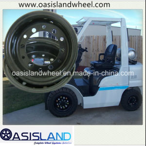 Split Wheel Rim (3.00D-8 4.00E-9) for Tcm Forklift pictures & photos