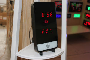 Phone Digital LED Display Clock with temperature (ZT-041AR-2) pictures & photos