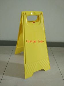 Warning Sign, Floor Signs, PP Sign, Public Caution pictures & photos