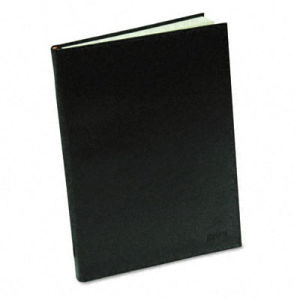 High Quality Black Colour Paper Cover Notebook (YY-N0102) pictures & photos