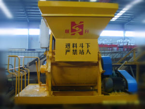 Js Series Concrete Mixer Double Shafts