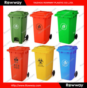 Plastic Dustbin (waste bin and trash bin) pictures & photos