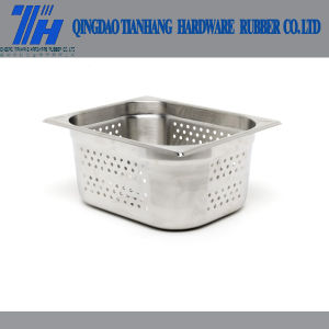 Perforated Stainless Steel Gastronorm Pan Full Size - 100mm D