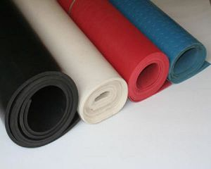 Natural NBR EPDM Neoprene Silicone Rubber Sheet pictures & photos