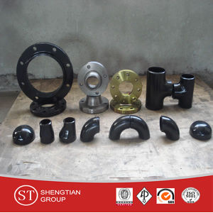 Buttweld Pipe Fitting Seamless Equal Tee pictures & photos