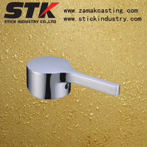 Zinc Die Casted Basin Handle for Bathroom Accessories (ZF1220) pictures & photos