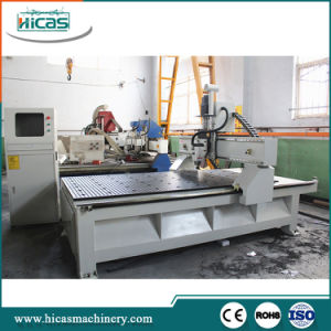 Special Designs OEM CNC Router 4 Axis for Cabinets pictures & photos