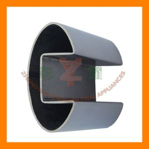 Inox Handrail Elliptical Slotted Tube pictures & photos