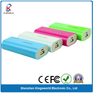 RoHS Power Bank 5600mAh with Custom Color pictures & photos