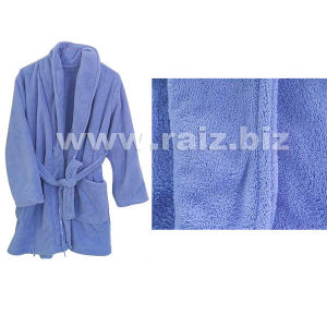 Microfibre Coral Fleece Bathrobe for Men