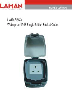LWIPN-SBSO IP65 Waterproof Single British Socket Outlet