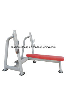 Olympic Flat Bench Commercial Fitness/Gym Equipment with SGS/CE