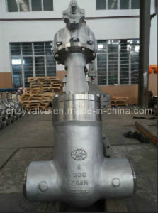 """Power Station Gate Valve Ss304 Sw 900lb 8"""" pictures & photos"""